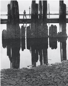 Wynn Bullock - Boy fishing, 1958