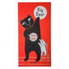 'Big Bear Little Chair' By Lizi Boyd