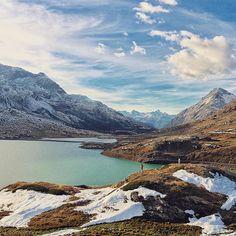 # #Switzerland_Vacations . Location: Bernina Pass, (Good Morning). Photo Credit:@Mygreatescapes ••••••••••••••••••••••••••••••••••••••••••••••••••••••• ✨#Facebook link in my bio⬅️✨