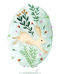 Happy Easter weekend to everyone . Happy Easter weekend to everyone . Easter Bunny Eggs, Easter Art, Hoppy Easter, Easter Crafts, Easter Illustration, Rabbit Illustration, Easter Paintings, Watercolor Paintings, Diy Ostern