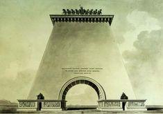 Etienne-Louis Boulee - Portes de villes triomphales