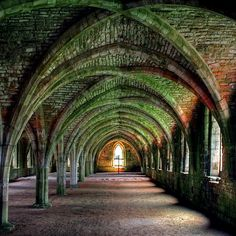 Fountains Abbey - Yorkshire, England