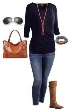 """Plus Size Fall Outfit"" by jmc6115 on Polyvore"