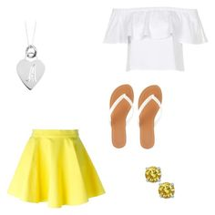 """""""A good day"""" by destinyl734 ❤ liked on Polyvore featuring Jeremy Scott, Topshop, Sterling Essentials and Charlotte Russe"""