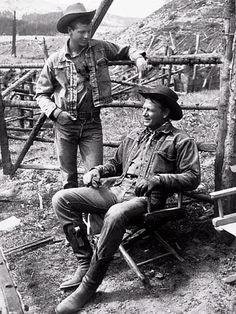 Jody McCrea and his dad Joel McCrea
