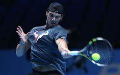 Rafa Nadal- ATP World Tour Finals 2013 Practice