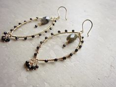 Teadrop Earrings Sterling Silver Earrings by ContempoJewelry ...
