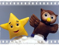 This twinkle star and owl cake was commissioned by June for her son Yoong Jae's first birthday in June It features the Star and Owl f. Baby First Birthday Themes, Owl Cake Birthday, Birthday Party Themes, 2nd Birthday, First Birthdays, Star Baby Showers, Twinkle Twinkle Little Star, Nursery Rhymes, Stars