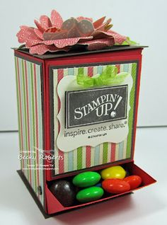 candy dispenser & pattern
