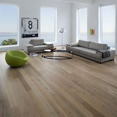 Loving the matte finish on these hardwood floors. Easier to keep clean over traditional floors