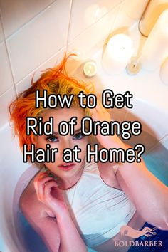 Orange hair after bleaching is usually patchy and uneven, with little to no shine. Let's look into how to get rid of orange hair after bleaching at home. Toning Bleached Hair, Treatment For Bleached Hair, Bleached Tips, Diy Hair Treatment, Blonde Hair Tips, Toner For Blonde Hair, Bleach Blonde Hair, Toner For Orange Hair, Tone Orange Hair