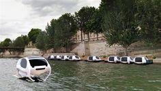 Sea Bubble : des voitures électriques et volantes bientôt sur la Seine ?