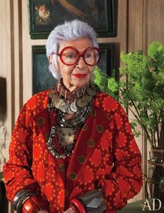 hopefully one day i'll be as fabulous as Iris Apfel