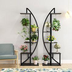 Regal Display, Deco Zen, Metal Plant Stand, Metal Plant Hangers, Indoor Plant Hangers, Wall Plant Hanger, Hanging Plants, House Plants Decor, Flower Stands