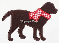 Winter Dog Applique - 3 Sizes! | Winter | Machine Embroidery Designs | SWAKembroidery.com Applique Cafe