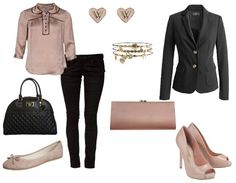 The perfect look for a work interview, add blazer, heels and a clutch to have a drink. http://www.stylefruits.de/outfits