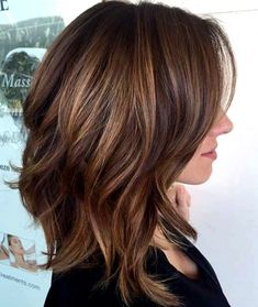 If you want a medium hairstyle that shows serious versatility, a long bob hairstyle is a right choice. No matter what hair type you have, what your face shape and what color you like, a long bob ha… Bob Hairstyles For Fine Hair, Layered Bob Hairstyles, Long Bob Haircuts, Haircut For Thick Hair, Thin Hair, Haircut Medium, Braided Hairstyles, Wedding Hairstyles, Hairstyles 2018