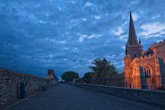 """Derry Twilight - HDR"" via freestock.ca"