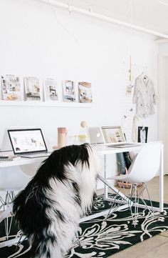 Apartment 34 | Office Makeover Reveal: {Design Is In The Details}