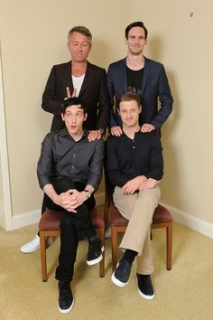 Gotham cast attend the press conference in Tokyo. / June 2015 photo : AXN Japan http://axn.co.jp/board/detail.php?id=372 Sean Pertwee, Robin Lord Taylor, Cory Michael Smith and Ben McKenzie
