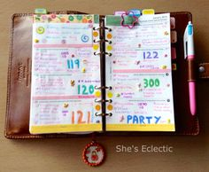 She's Eclectic: My week in my Filofax #3