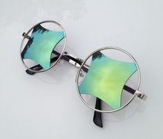 12242330ca Retro Handmade Vintage Sunglasses Womens Mens Sunglasses Glasses Shades  Glasses - Polygonal Sunglasses Women