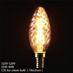 LED Vintage Edison Bulb E27