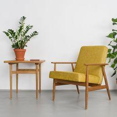 Sessel Senfgelb vintage sessel 60er sofa 50er vintage senf ein