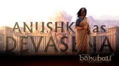 Baahubali Poster: Anushka as Devasena