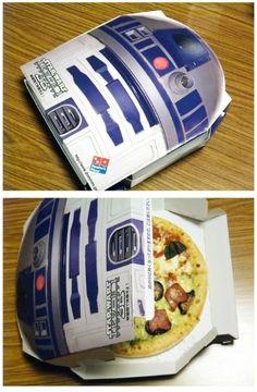 Nueva caja de Domino's Pizza #Japan en homenaje a #StarWars #DominosPizza #BOGUE