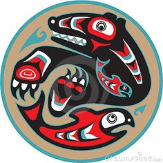 haida art bear - Google Search