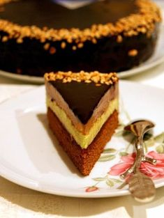 Chocolate and ricotta cake - HQ Recipes Russian Cakes, Russian Desserts, Russian Recipes, Sweet Recipes, Cake Recipes, Chocolate Pudding Recipes, Torte Cake, Bulgarian Recipes, Pastry Cake