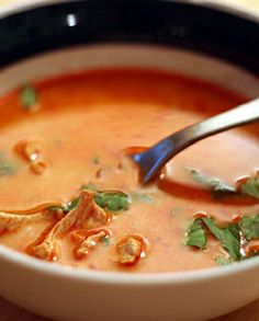 Low FODMAP Recipe and Gluten Free Recipe - Thai chicken soup