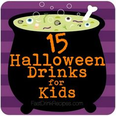 15 halloween drinks for kids fast drink recipes - Halloween Punch Recipes For Kids Party