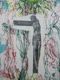 Marc Mulders: Zeefdruk en Collage, Vallen