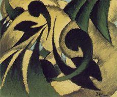 Arthur Dove, Nature Symbolized No. 2, c.1911,pastel on paper, 45.8 x 55 cm, Art Institute of Chicago