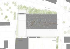 Plan; Centrum Odorf by Idealice Landscape Architecture; Landscape Architecture: Idealice Location: Innsbruck Olympic Village, Austria