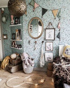 Not Your Usual Top 10 Kids' Room Trends for 2020 Discover kids' room trends for 2019 to get a bigger picture of the kid's room styling industry today and be inspired by the best of kids' interiors today. Baby Room Design, Baby Room Decor, Nursery Design, Cool Kids Rooms, Kid Spaces, My New Room, Kids Bedroom, Room Inspiration, Interior