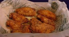 Copycat Wingstop Lemon Pepper Chicken Wings