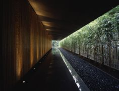 In an elegant twist on vernacular building types Kengo Kuma creates a huge roof for the Nezu Museum. Timber Architecture, Museum Architecture, Japanese Architecture, Sustainable Architecture, Landscape Architecture, Landscape Design, Architecture Design, Japan Landscape, Japanese Modern