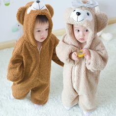 Cheap climbing clothes, Buy Quality kids rompers directly from China romper toddler Suppliers: 2016 Super Cute Babay Winter Duffy Bear Romper Toddler Fleece Kids Jumpsuits Rompers Cosplay Gifts Children Climbing Clothes Cute Baby Twins, Twin Baby Boys, Cute Asian Babies, Korean Babies, Cute Little Baby, Baby Kids, Baby Outfits Newborn, Baby Boy Outfits, Rompers For Kids