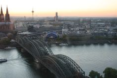 View of Cologne from the KölnTriangle.