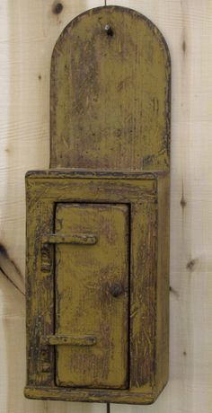 prim (this is not painted with chalk paint but I love the color and distressing)