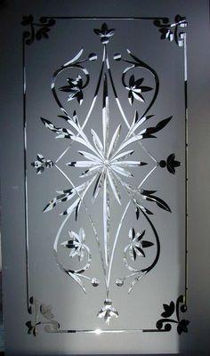 Brilliant cut glass     Also known as Wheel cut GLASS,