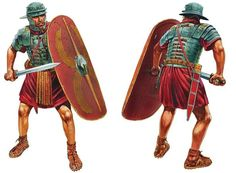 Roman soldier of Legio XIX, Teutoburg Forrest, summer 9 AD - Peter Dennis
