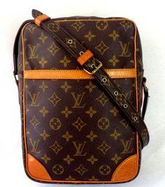 Louis Vuitton Danube Gm Brown Cross Body Bag $436