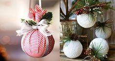 Recept na nepečené skořicové vánoční ozdoby | jaksiudelat.cz Acorn Crafts, Pine Cones, Dream Catcher, Christmas Bulbs, Pergola, Projects To Try, Creations, Table Decorations, Sewing