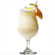 Pina Colada Freeze    Place 1 ½ ounces coconut rum, 1 ½ ounces sugar-free, calorie-free coconut-flavored syrup like Torani, ¼ cup fat-free vanilla ice cream, 1 tablespoon canned crushed pineapple with juice, 1 no-calorie sweetener packet, and 1 cup crushed ice in a blender. Blend until smooth. Optional: Garnish with a pineapple wedge.