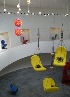 Verner Panton at Trapholt by malouette, via Flickr