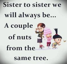 Cute Sister Quotes, Missing Family Quotes, Sister Birthday Quotes Funny, Little Sister Quotes, Brother Sister Quotes, Birthday Wishes For Sister, Love My Sister, Quotes About Sisters, Sister Sayings